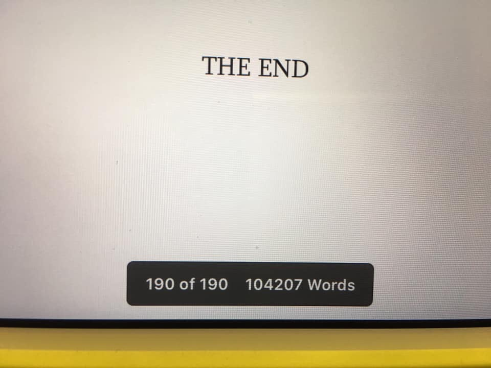 The End 190 pages 104207 words